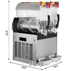 30l Boisson Glacée Slush Machine De Fabrication Smoothie Maker Fit Granita Drinks Business