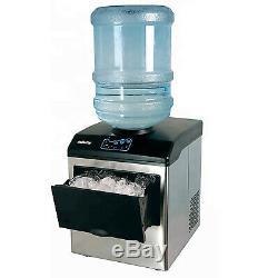 33 Lb / Jour Table Maker Ice Making Machine Portable Pour 5 Gallon Bouteille D'eau