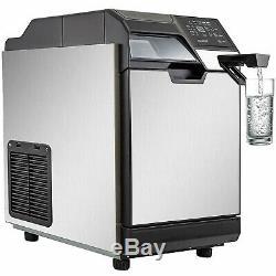 35-50kg Commercial Ice Maker Faire Ice Cool Machine Distributeur D'eau 14lbstorage