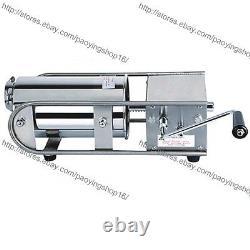 3/5/7l Manuel Machine De Fabrication De Farce De Saucisse De Viande En Acier Inoxydable