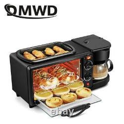 3 Dans 1 Meilleur Petit Déjeuner Faisant La Machine Mini Four Électrique De Cafetière De Pain De Pizza