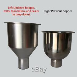 3 Sets Mold Gratuit Maker Commercial Automatique Donut Machine De Fabrication De Grand Réservoir D'huile