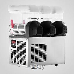 3tank 45l Boisson Congelée Slush Faire Machine Maker Smoothie 110v Vente