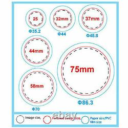 58mm(2.28) Bouton Badge Maker Appuyez Sur 500 Pcs 200-300pcs/h Kit De Fabrication De Machine