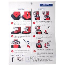 58mm (2,28) Bouton Badge Presse Maker 500 Pièces 200-300pcs Machine À / H Kit Faire