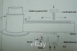 58mm Bouton Badge Maker Badge Making Machine Kit + 1000 Fournitures Bouton + Cutter