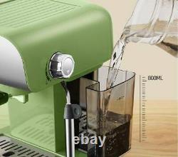850w Machine À Expresso Domestique Latte Cappuccino Coffee Maker Steam Function