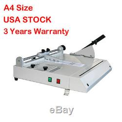 A4 Taille Hard Cover Case Maker Bureau Livre Relié Hardbound Making Machine 110v
