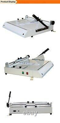 A4 Taille Hard Cover Case Maker Hardback Hardbound Making Machine USA
