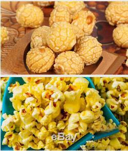 Automatique À Gaz Popcorn Machine De Fabrication Unique Pot Maker Popcorn Sphérique