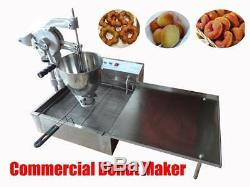 Balle Manuel Commercial Beignet Breakwater Donut Fryer Maker Machine De Fabrication 3moulds
