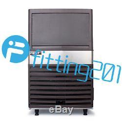 Bar 220 Commercial Ice Maker Auto Cube Effacer Ice Faire 55 KG / 24h Machine