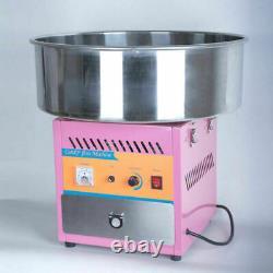 Barbe À Sucre Commerciale Électrique Floss Making Machine Cotton Sugar Maker 220v