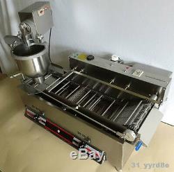 Beignet Automatique Gaz Fabrication / Friture-linge, Machine À Beignet, 3 Moules 1200pcs / H