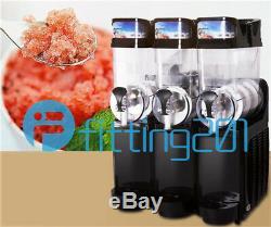 Boisson Commerciale Congelée 3 Réservoir 45l Slush Faire Machine Maker Smoothie Tkx-03