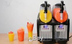 Boisson Congelée Slush Slushy Machine De Fabrication De Jus De Smoothie Maker 22l