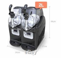 Boisson Congelée Slush Slushy Machine De Fabrication De Jus De Smoothie Maker 2l2