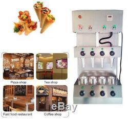 Ce Commerciale Pizza Cône Formant Machine De Fabrication Maker Avec Four À Pizza Rotational