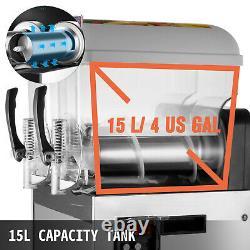 Commercial 2 15l Jus De Boissons Congelées Strashy Faire La Machine Smoothie Maker 30l