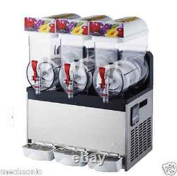 Commercial 3 Réservoir Congelé Boisson Slush Slushy Making Maker Machine Smoothie