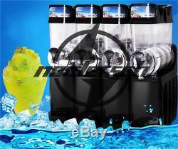 Commercial 4 Réservoir 220 V-04 Tkx Boisson Glacée Slush Making Maker Machine Smoothie