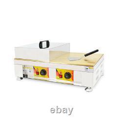 Commercial Antiadhésives Dorayaki Baker Pancake Maker Soufflé Making Machine 110v Us