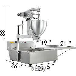 Commercial Beignes Maker Automatique Machine Avec Donut Making 9l 3 Moule
