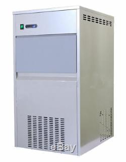 Commercial Snow Flake Machine À Glaçons Machine De Fabrication 100kg / 24h 40kg Capacité De Stockage U