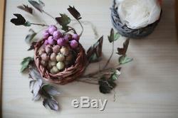 Confections De Fleurs Tissu Fleurs Faire Repasseuse Outils Set Bricolage + 16 Tête
