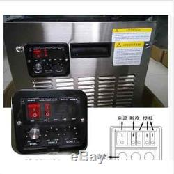 Congelés 2 Réservoir Rouge Commercial Boisson Slush Slushy Making Maker Machine Smoothie Bi