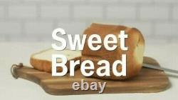 Cookworks Bread Maker Bread Making Machine 13 Programmes Cool Touch 580w Blanc