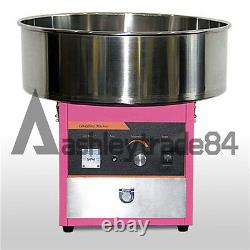 Electric Commercial Candy Floss Making Machine Cotton Sugar Maker 220v