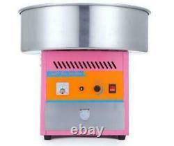 Electric Commercial Candy Floss Making Machine Cotton Sugar Maker 220v États-unis