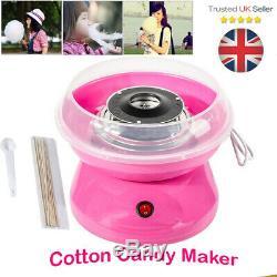 Électrique Candyfloss Making Machine Accueil Coton Sucre Candi Floss Maker Bricolage