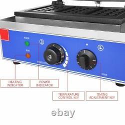 Électrique Thermal Lattice Making Machine Ménage Fabricant De Gaufres Commerciales 1550w