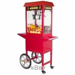 Floss Chariots Faire Bonbons Machine Électrique Popcorn Maker Retro Machine & Coton