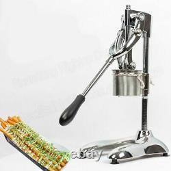 French Fries Maker Machine Longue Bande De Pomme De Terre Extruder Fabrication Manuelle Outil De Formation