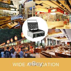 Gaufrier Commercial Place Belge 1550w Bâton Muffin Waffle Making Machine