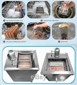 Glace Ensembles De Moules Double Popsicle Machine De Fabrication, De La Glace Lolly Machine, Pop Machine À Glaçons