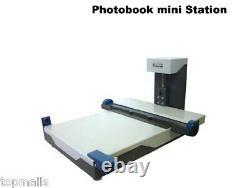 H-12 Livre Photo Fabricant Mounter Machine À Faire De L'album De Montage Encastré