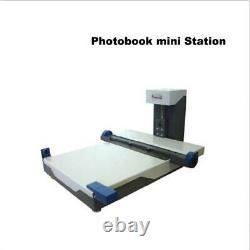 H-18 Fabricant De Livres Photo Mounter Flush Montage Album Making Machine Bi