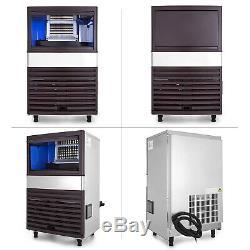 Ice Cube Making Machine Commerciale Machine À Glaçons 45kg / 100lbs Par 24h Autonettoyer