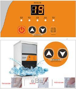 Ice Maker Commercial Auto Effacer Cube De Fabrication De Glace 60 KG Machine / 24h 220v