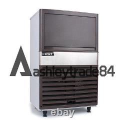Ice Maker Commercial Auto Effacer Cube Ice Making Machine 220v / 24h Bar