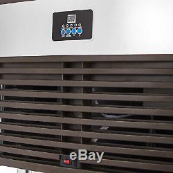 Ice Maker Commerciale 40200kg Ice Making Machine 24h Nettoyage Automatique Led 24126cases