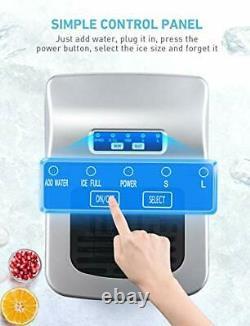 Ikich Maker Machine Compteur De La Machine À La Maison, Glaçons Prêts À 6 Minutes, Faire 26