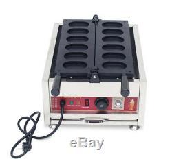 Intbuying Antiadhésives Électrique Egg Gâteau Gaufrier Making Machine Maker 110v 3kw