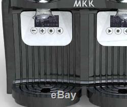 Jus Smoothie Maker 2-2l 2 Boissons Réservoir Congelé Slush Slushy Machine Faire