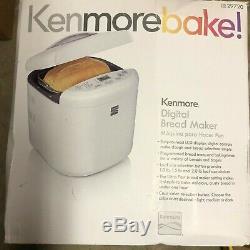 Kenmore 2lb Panification Machine 29720 Maker Avec Réglage Sans Gluten
