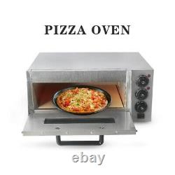 Kitchen Pizza Making Machine En Acier Inoxydable Cake Cuisson Oven Party Bread Maker